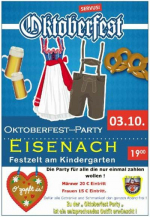 Oktoberfest-Party in Eisenach 2015